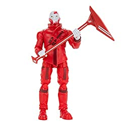 The Ex 4-inch action figure has 25+ points of articulation and highly detailed decoration inspired by one of the most popular Outfits from Epic Games' Fortnite. Ex is equipped with the Stripe Slicer Harvesting Tool, ready for action. Official License...