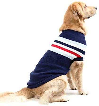 Jihan Disfraz de Navidad para cachorro, perro, gato, suter de punto, Navidad, reno, animal, disfraz, abrigo rojo
