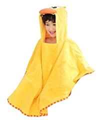 Frelo hooded towels for kids are luxuriously soft and plush, making your child feel comfortable and happy after each bath. Dry your children quickly while also keeping them warm and cozy. Extremely durable and can withstand countless washes getting s...