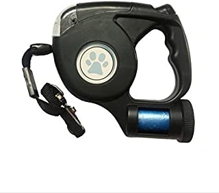 Retractable Dog Leash – 16ft Pet Training Lead with Ergonomic Handle, Lock & Break Button