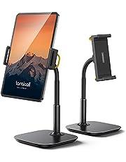 Tablet Stand Holder, Gooseneck Tablet Mount - Lamicall 360 Degree Rotating Adjustable Desktop Stand