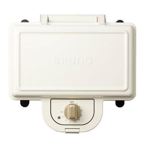 ブルーノ BRUNO ホットサンドメーカー 耳まで焼ける 電気 ダブル ホワイト BOE044-WH