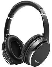 Hybrid Active Noise Cancelling słuchawki, składane, bezprzewodowe, Bluetooth 5.0, Srhythm NC35 Over-Ear z szybkim ładowaniem USB-C, mikrofon CVC8.0, rozmowy głosowe, 40 godz. kompatybilne z komputerami z systemem iOS Android TV PC