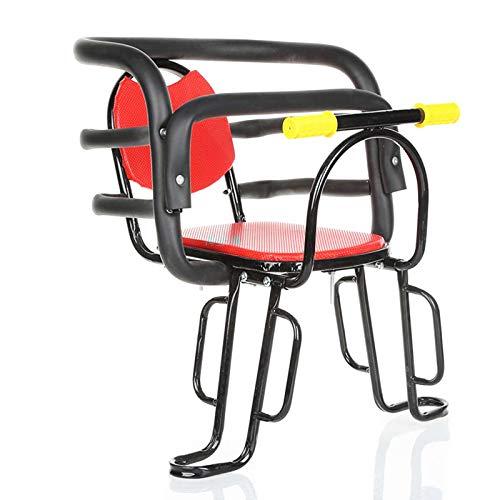 Asiento trasero para bicicleta Xbshmw, ultraligero para portaequipajes para niños, asiento trasero para bicicleta de montaña, híbrido, fitness