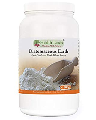 Diatomaceous Earth - Powder 500g (Pure Fresh Water Sourced Food Grade)