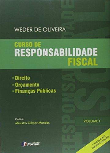 Curso de responsabilidade fiscal direito orçamento e finanças públicas