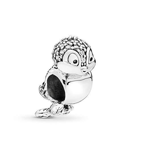 ZDJDMZ Cuentas Colgantes De Moda 2 Unids/Lote Encantador Dinosaurio Hedgehog Charms Beads Fit Pulseras Collar para Mujeres DIY Accesorios De Joyería