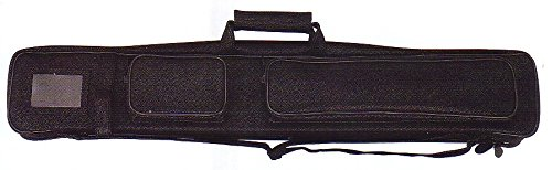 Southern Game Rooms 4X8 B48A Soft Pool Cue Case Black Leatherette