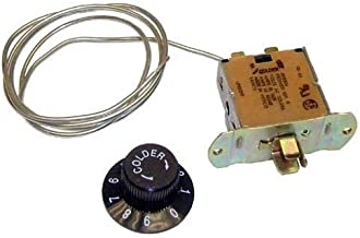 (New part) TRUE 800306 Air Sensing Refrigerator Thermostat/firs for many models, check in description + (one free author's book)