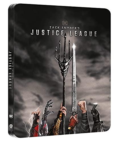 ジャスティス・リーグ:ザック・スナイダーカット 限定スチールブック仕様 [4K UHD +Blu-ray 日本語有り](輸入版) -Zack Snyder's Justice League Steelbook-