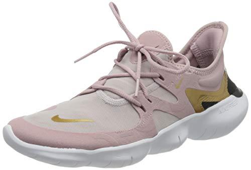 Nike Free RN 5.0, Zapatillas de Correr Mujer, Morado (Plum Chalk/Metallic Gold-Plati 501), 38 EU