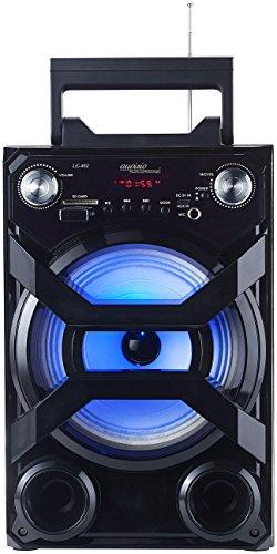 auvisio Partyanlage: Mobile Akku-Musikanlage, Bluetooth, Karaoke-Funktion, USB, SD, 30 Watt (Mobile Partyanlage)