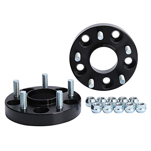 KSP 5X114.3mm Wheel Spacers, Forged 2Pcs 15mm Thread Pitch 12x1.25 Hub Bore 66.1mm 5 Lug Hub Centric 3/5 Wheel Adapters for 350Z 370Z G35 G37, 2 Years Warranty?Pack of 2?