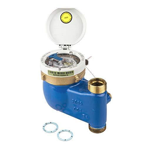 Zenner 142230 Wasserzähler MNK-ST für Kaltwasser Baulänge 105 mm