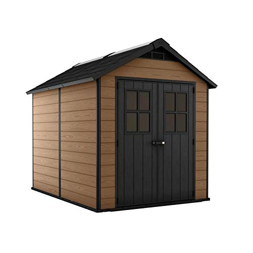 Keter Garden shed Newton 7511 Brown Color - cm.228x350x h. 252