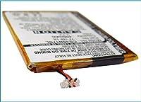 450mAh battery for INSIGNIA NS-2V17 NS-2V17B 2GB 4GB NS2V17R NS-4V17 4V17B 4V17R MP3, MP4, PMP Battery