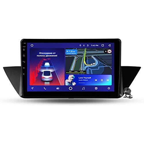 XBRMMM Android 9.1 Estéreo para Automóvil para BMW X1 E84 2009-2012, 10.1 Pulgadas Radio Automática única Navegación GPS Soporte Completo RCA BT MirrorLink WiFi Car Auto Play DSP DVR