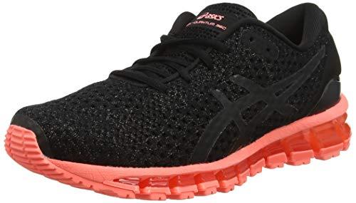 Asics Gel-Quantum 360 Knit 2 1022a041-00, Zapatillas de Entrenamiento Mujer, Negro (Black...