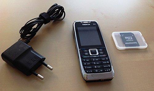 Nokia E51 Handy ohne Kamera (UMTS, EDGE, WLAN, Bluetooth, Organizer, Nokia Office Tools 2.0)