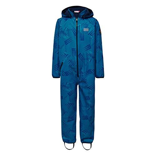 LEGO Wear Baby - Jungen Schneeanzug LEGO Tec Sommer SIRIUS 202 - Softshell - Anzug 20823, Gr. 74, Blau (Blue 551)