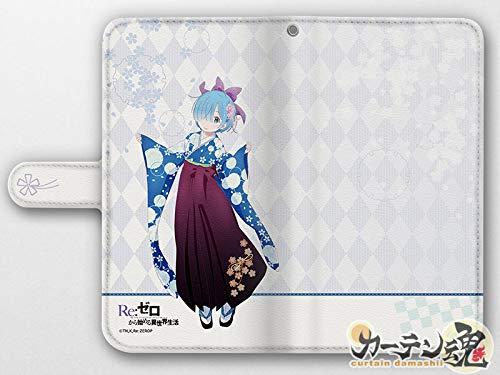 [Re:ゼロから始める異世界生活]手帳型スマホケース(レム/袴)汎用Lサイズ
