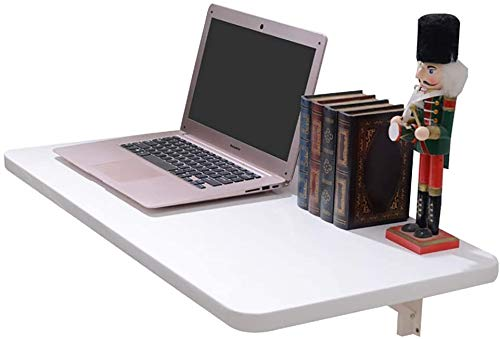 壁掛けテーブル ダイニングテーブル 事務机 パソコンデスク 壁に短いトリップアームとシェルフブラケット折りたたみ圧延鋼三角テーブルテーブルからな