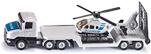 Siku Fire Service Articulated Truck and Helicopter by Siku
