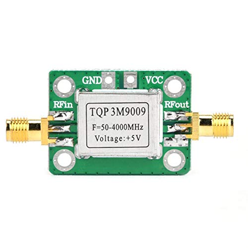 Modulo amplificatore LNA amplificatore a basso rumore a banda larga RF da 50-4000 MHz 21,8 dB con scatola di schermatura