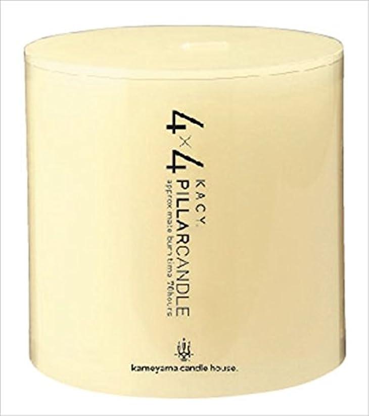 もアナログ僕のカメヤマキャンドル( kameyama candle ) 4×4ピラーキャンドル 「 アイボリー 」