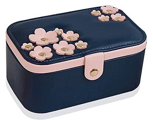 JIAH Exquisito joyería Simple Caja de Almacenamiento Collar Pulsera Pendientes Anillo Joyería Caja de joyería