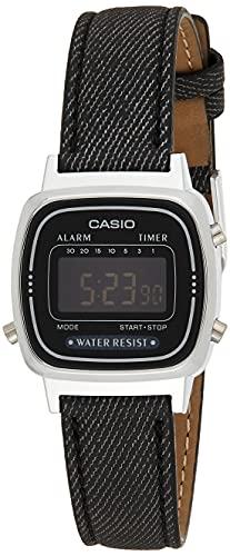 Casio Reloj de Pulsera LA-670WL-1B