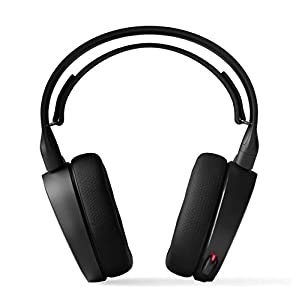 SteelSeries Arctis 5 - RGB Illuminated Gaming Headset with DTS Headphone: X v2.0 Surround - for PC and PlayStation 4 - Black