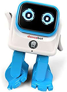 Action & Toy Figures - Dancebot AI Smart Robot Bluetooth RC Dancing Kids Toys Story Speaker 360 Degree Joint Children's Co...