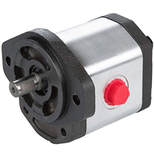 RuggedMade Hydraulic Gear Pump, 15 GPM Single Stage, Clockwise Rotation, 3600 PSI