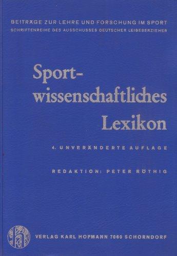 Sportwissenschaftliches Lexikon
