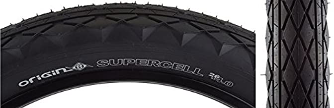 Origin8 Supercell Wire Bead Fat Bike Tires, 26 x 4.0