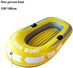 Forart Touring Kayaks, Inflatable Kayak Set with Aluminum Oars and High Output Air Pump Inflatable Boat Canoe