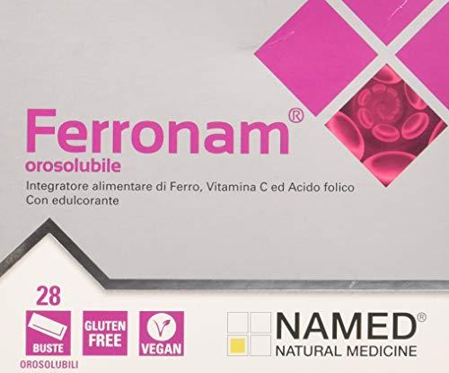 Named Ferronam 28 Bustine Orosolubili, Viola, DinoSN-162, 56 Grammi, 3