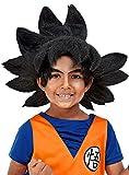 Funidelia   Peluca de Goku - Dragon Ball Oficial para niño ▶ Son Goku, Bola de Dragón, Anime, Saiyan - Negro, Accesorio para Disfraz
