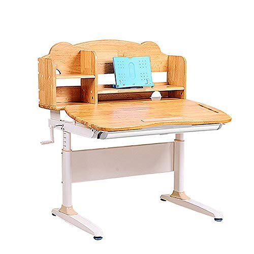 HUIO Kids Tale & Chair Set Kindertisch Schreibtisch Multi-Funktions-Schreibtisch Childen Kinder Study Table School Student Schreibtisch Buchständer höhenverstellbar Kindermöbel