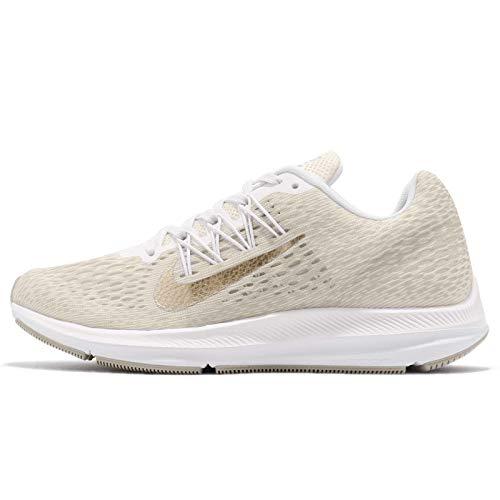 Nike Womens Zoom Winflo 5 Running Trainers AA7414 Sneakers Shoes (UK 3 US 5.5 EU 36, Phantom Metallic Gold String 008)