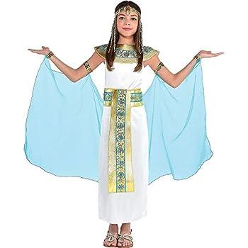 Amscan 841120 Shimmering Cleopatra Costume Children Large Size 1 Piece