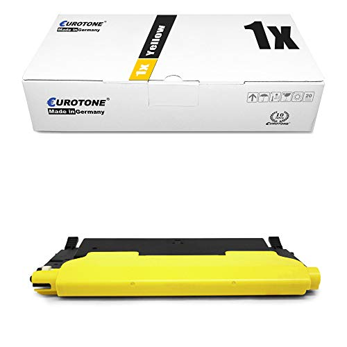1x Müller Printware cartuccia del toner per Samsung CLP 310 315 W N sostituisce CLT-Y4092S Yellow giallo