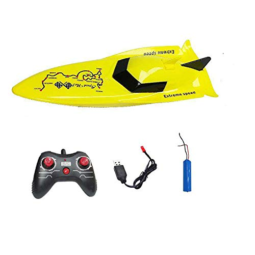 Cross Border New Remote Control Boat Simulation Mini Speedboat Water Swimming Summer Toy Four Channel Electric Boat Model