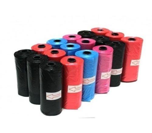DOBO set 1080 pezzi sacchetti bustine igienici per escrementi cani gatti raccolta feci colori casuali (2 pacchi da 540 pezzi)
