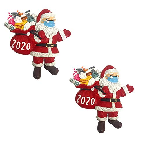 Christmas Decorations Hanging Ornaments, 2020 Christmas Tree Ornament Decor, Home Decor Doll Gifts, Personalized Family Decor Kit (4,5,6 Person) (2)