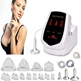 Titoe Vacuum Therapy Machine 65-75cmhg Suction Power Back Massager Vacuum Cupping Set with 24 Vacuum Cups and 3 Pumps