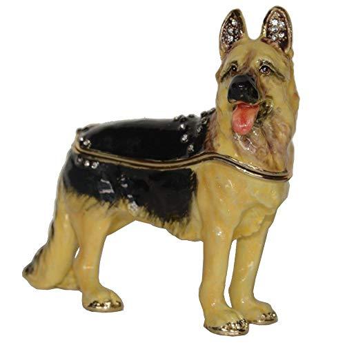 GLKHM Sculpture Display Sculpture Statue Animal Dog Trinket Box Figurine Sculpture Ornaments