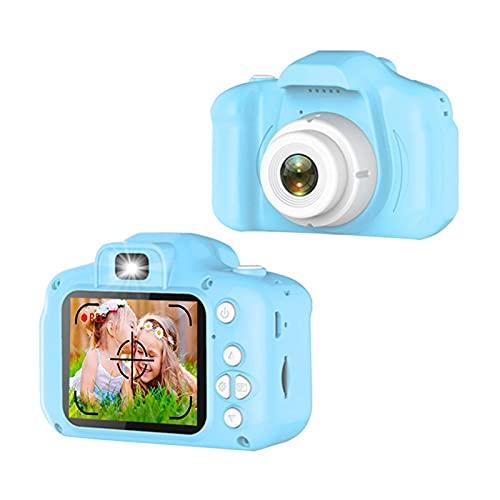 SHANG-JUN cámaras para niños Camera Digital de Video HD para niños Cámara para niños Super IPS de 2 Pulgadas 1090P de 2 Pulgadas, 20 Millones de píxeles Lente de Alta definición Regalo niña de 5 años