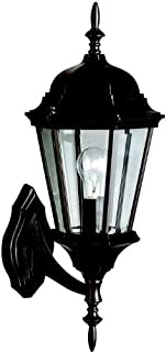 Kichler 9653BK Madison Outdoor Wall 1-Light, Black